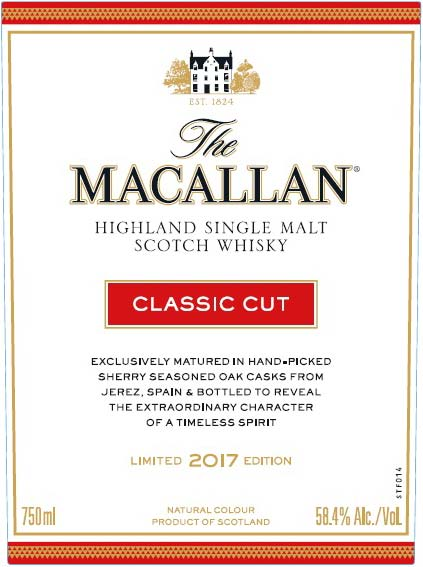 Macallan Classic Cut - Front Label