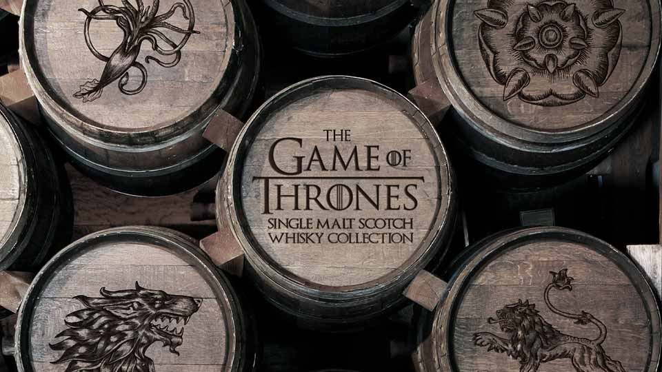 Game of Thrones Single Malt Scotch Whisky Collection Teaser