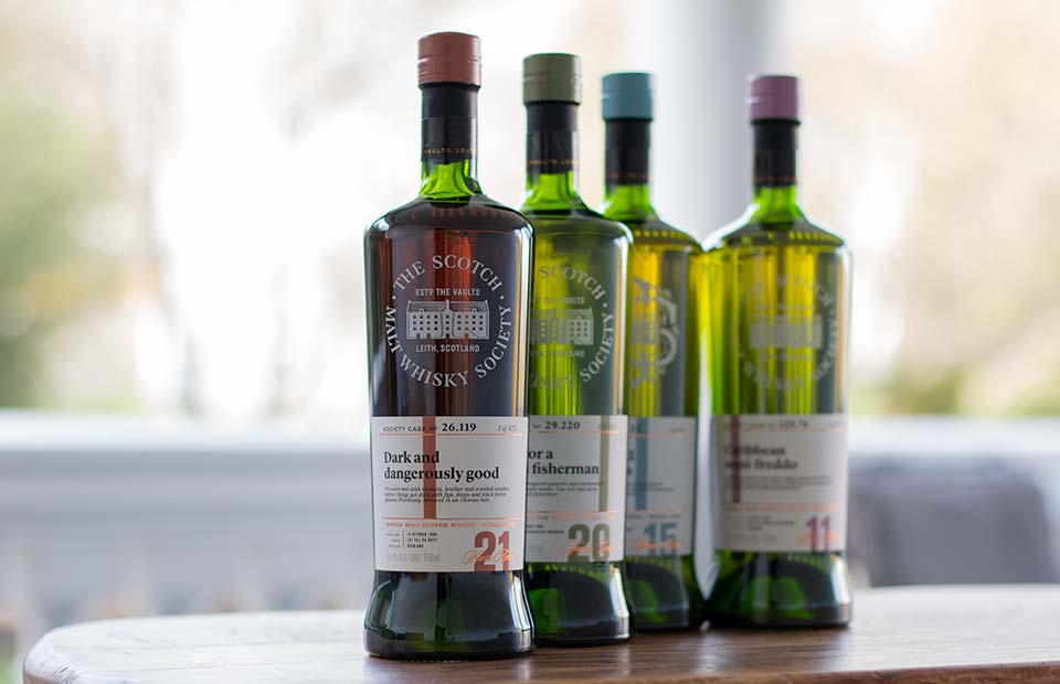 Scotch Malt Whisky Society (SMWS) Bottles