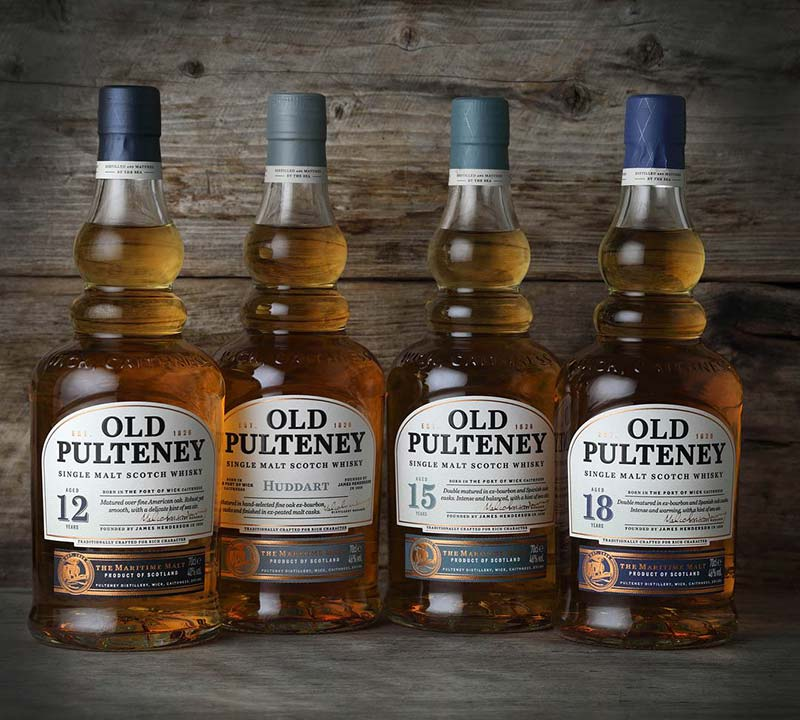 Old Pulteney New Core Collection