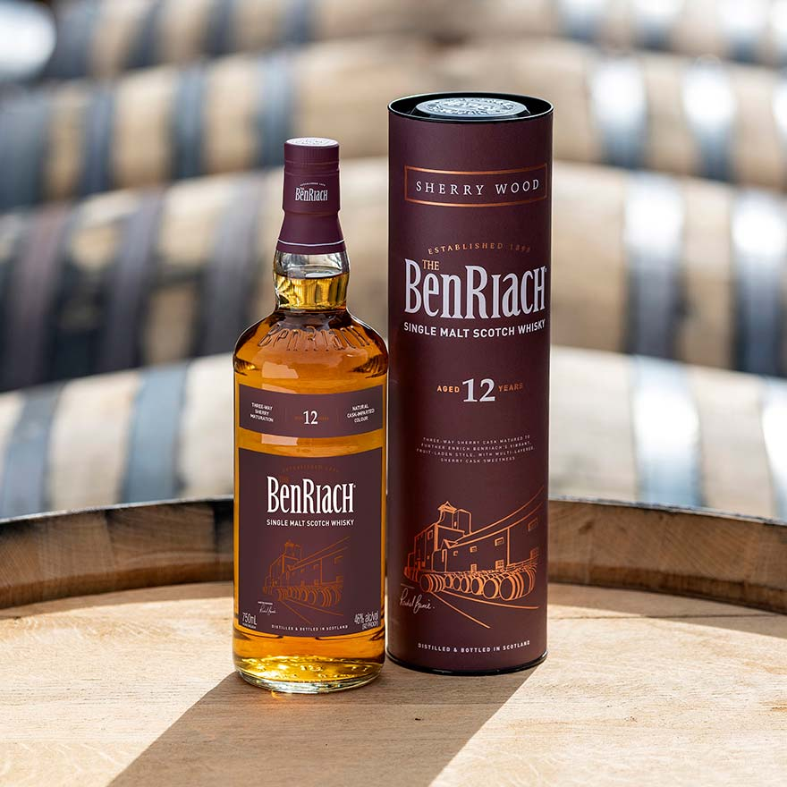 BenRiach Sherry Wood 12 Year Old