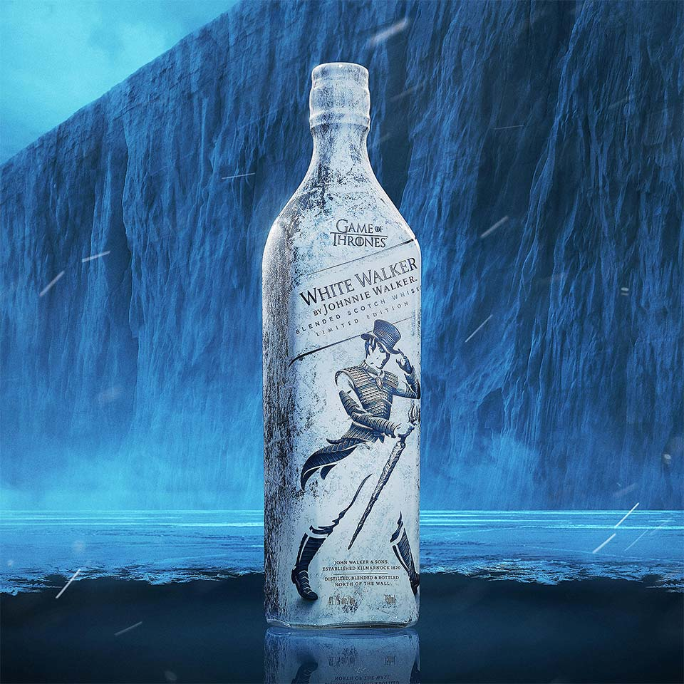 White Walker by Johnnie Walker Blended Scotch Whisky