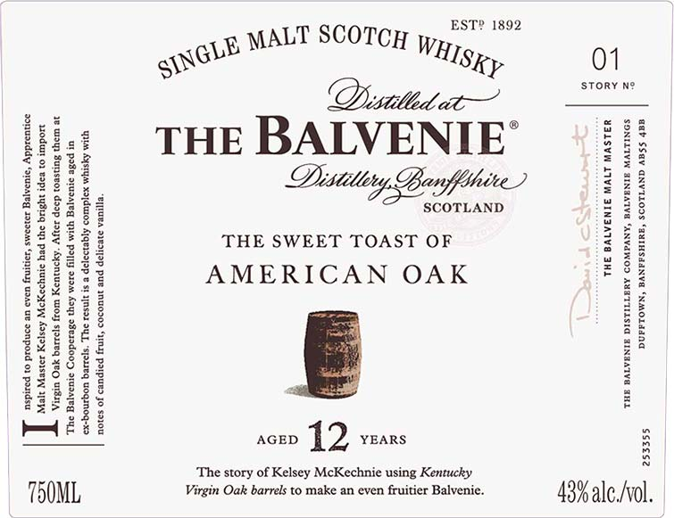 The Balvenie Stories Story No 1: The Sweet Toast of American Oak