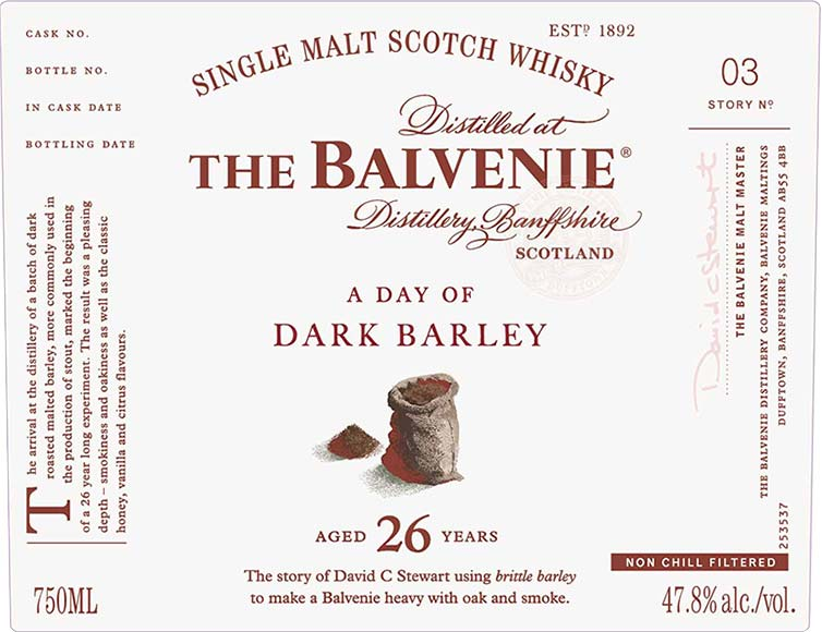 The Balvenie Stories Story No 3: A Day of Dark Barley