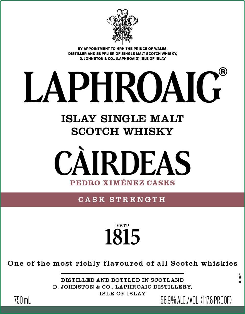 Laphroaig Cairdeas 2021